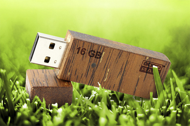 Деревянная флешка Eco 2.0 - изображение 3 | GoodRam