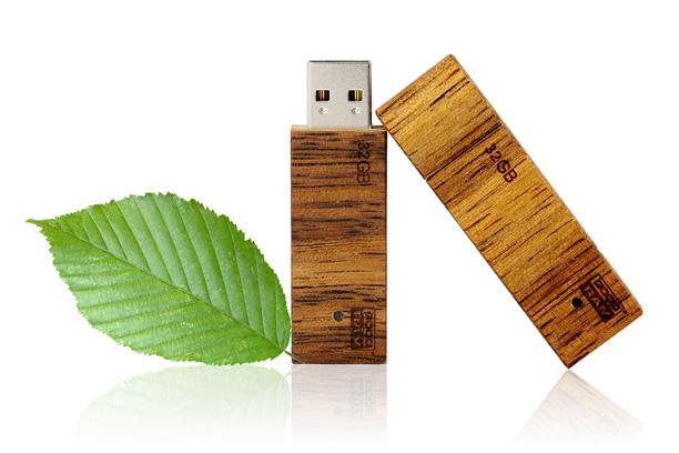 Деревянная флешка Eco 2.0 - изображение 2 | GoodRam