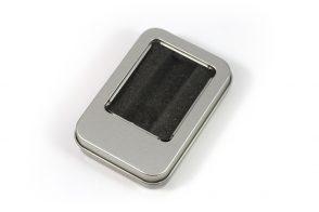 Малая металлическая коробка под флешку - изображение