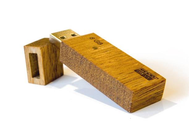 Деревянная флешка Eco 2.0 - изображение 4 | GoodRam