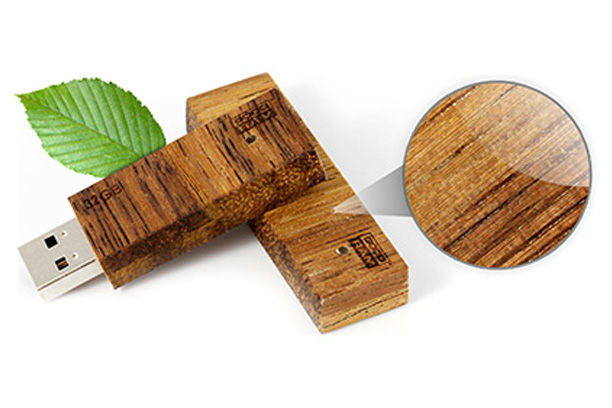 Деревянная флешка Eco 2.0 - изображение 1 | GoodRam