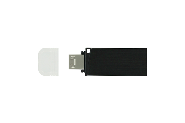 Металлическая USB флешка Twin 3.0 - изображение 1