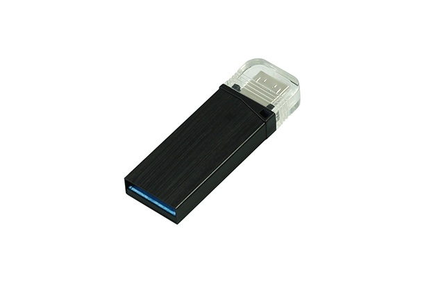 Металлическая USB флешка Twin 3.0