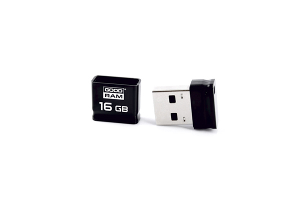 Мини USB флешка Piccolo 2.0 - Черный | GoodRam