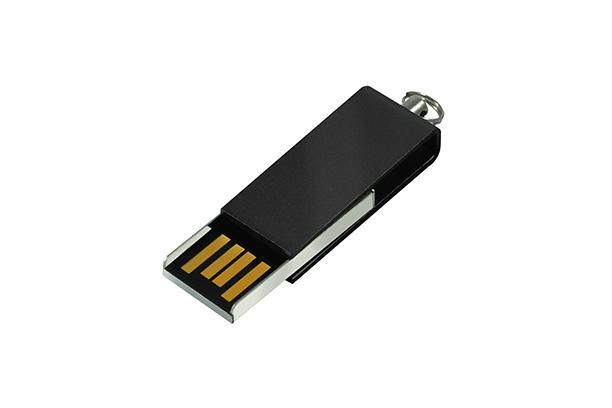 Мини USB флешка Cube 2.0 - Черный