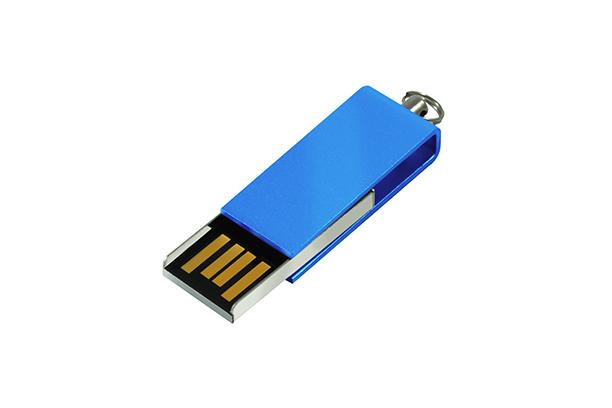 Мини USB флешка Cube 2.0 - Синий