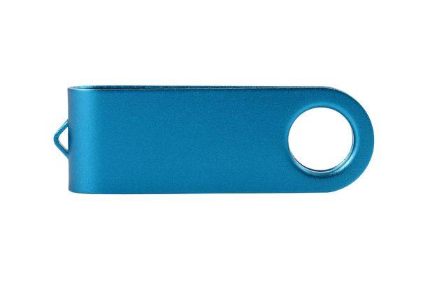 Цветная клипса для флешки Twister - голубой