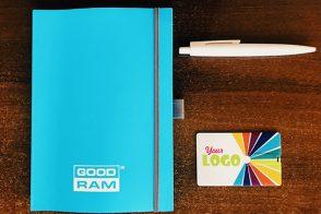 флешка с нанесением, блокнот и ручка