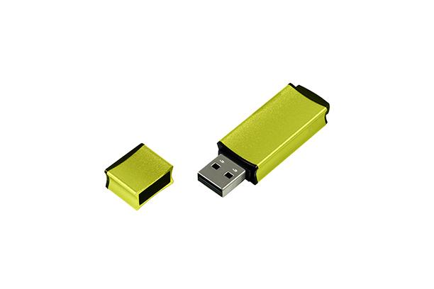 Металлическая USB флешка Edge 2.0 - Зеленый