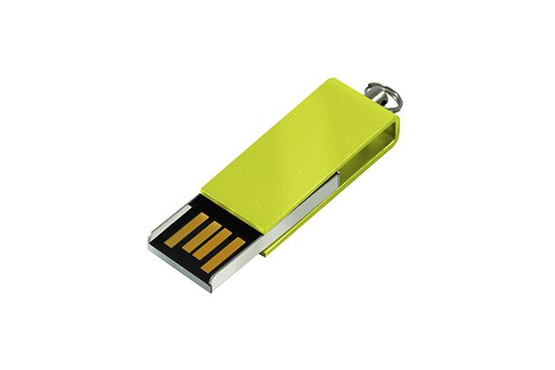 Мини USB флешка Cube 2.0 - Зеленый