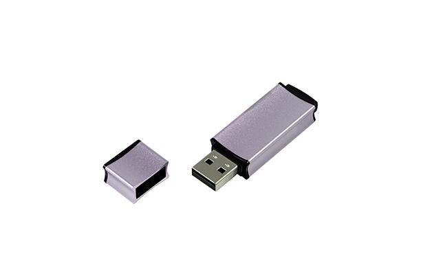 Металлическая USB флешка Edge 2.0 - Серебро
