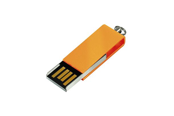Мини USB флешка Cube 2.0 - Оранжевый