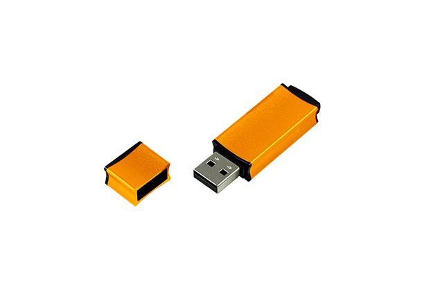 Металлическая USB флешка Edge 2.0 - Оранжевый