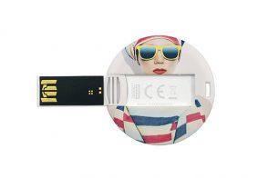 USB Флешка карта Circle Credit Card 2.0