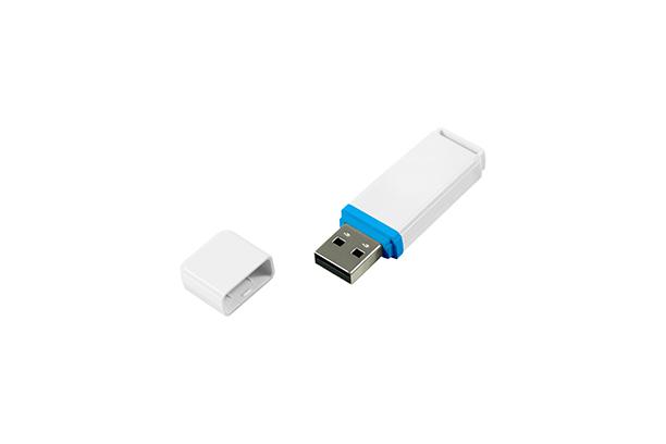 Пластиковая USB Flash память UMO2 - Белый