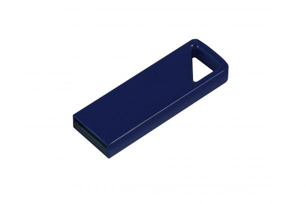 Алюминиевая USB флешка UVA 2.0 - т-синий