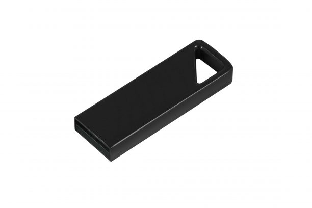 Алюминиевая USB флешка UVA 2.0 - т-серый